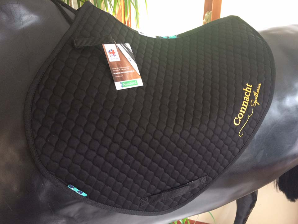 NuuMed saddlepad EV01 black