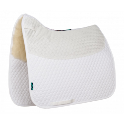 HiWither Anti-slip saddlepad with Half Wool - Dressage (SP22 DR)