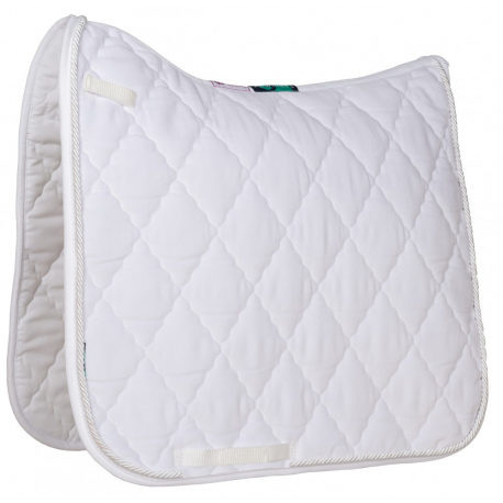 HiWither velvet saddlepad with braid (SP24 DR)