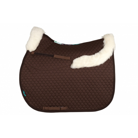 HiWither Saddlepad With Front & Back Collars (SP21 GP)