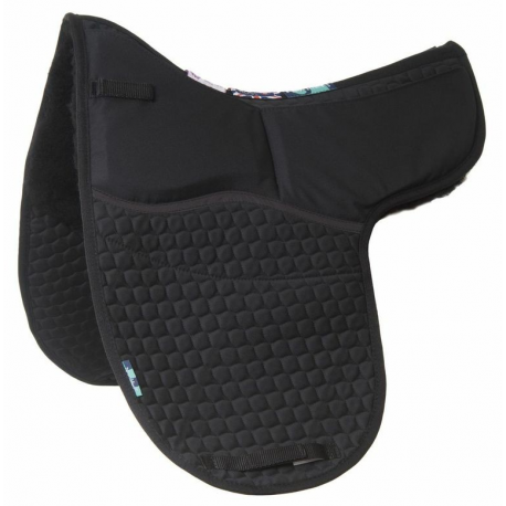 Dressage HiWither Half Wool Shimmy Numnah (NM08ASS DR)