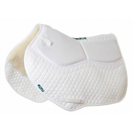 HiWither 2 Pocket Half Wool Shimmy Saddlepad - Close Contact (SP01SS CC)