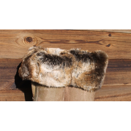Faux Fur Welly Warmers