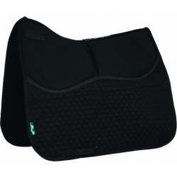 HiWither 2 Pocket Everyday Quilt Shimmy Saddlepad - Dressage (SP11SS DR)