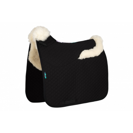 HiWither Half Wool Saddlepad With Collars (SP20 DR)