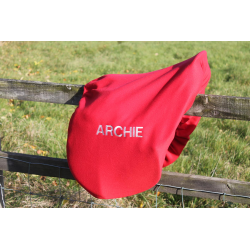 Embroidered Fleece Saddle Cover (GA06 Emb)
