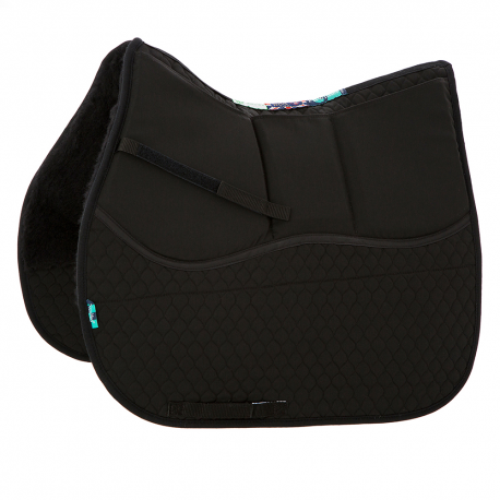 HiWither 3 Pocket Shimmy Saddlepad - half wool (SP29SS)
