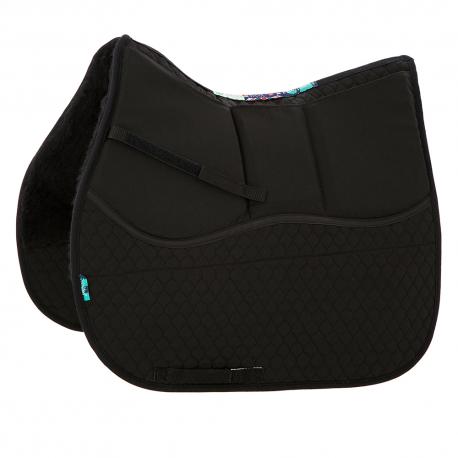 HiWither 3 Pocket Shimmy Saddlepad - half wool (SP29SS)
