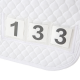 HiWither Quilt Saddlepad with Numbers (SP16)