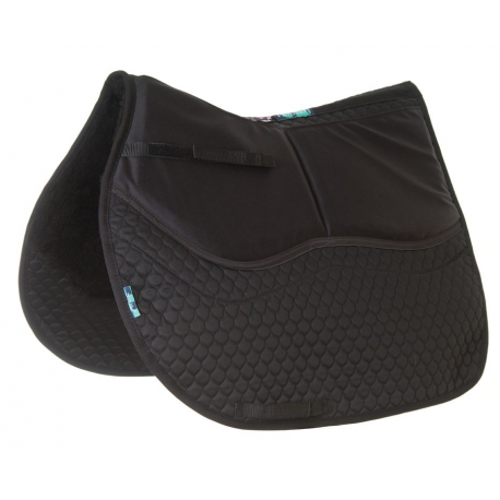 HiWither 2 Pocket Half Wool Shimmy Saddlepad - General Purpose (SP01SS GP)