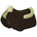 HiWither Half Wool Saddlepad With Collars - Close Contact (SP20 CC)