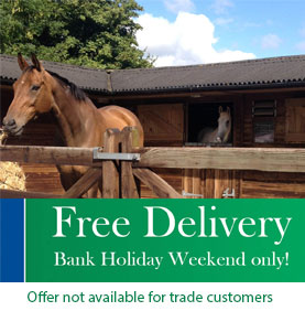 Get free delivery on all orders this weekend - Offer not available to trade customers